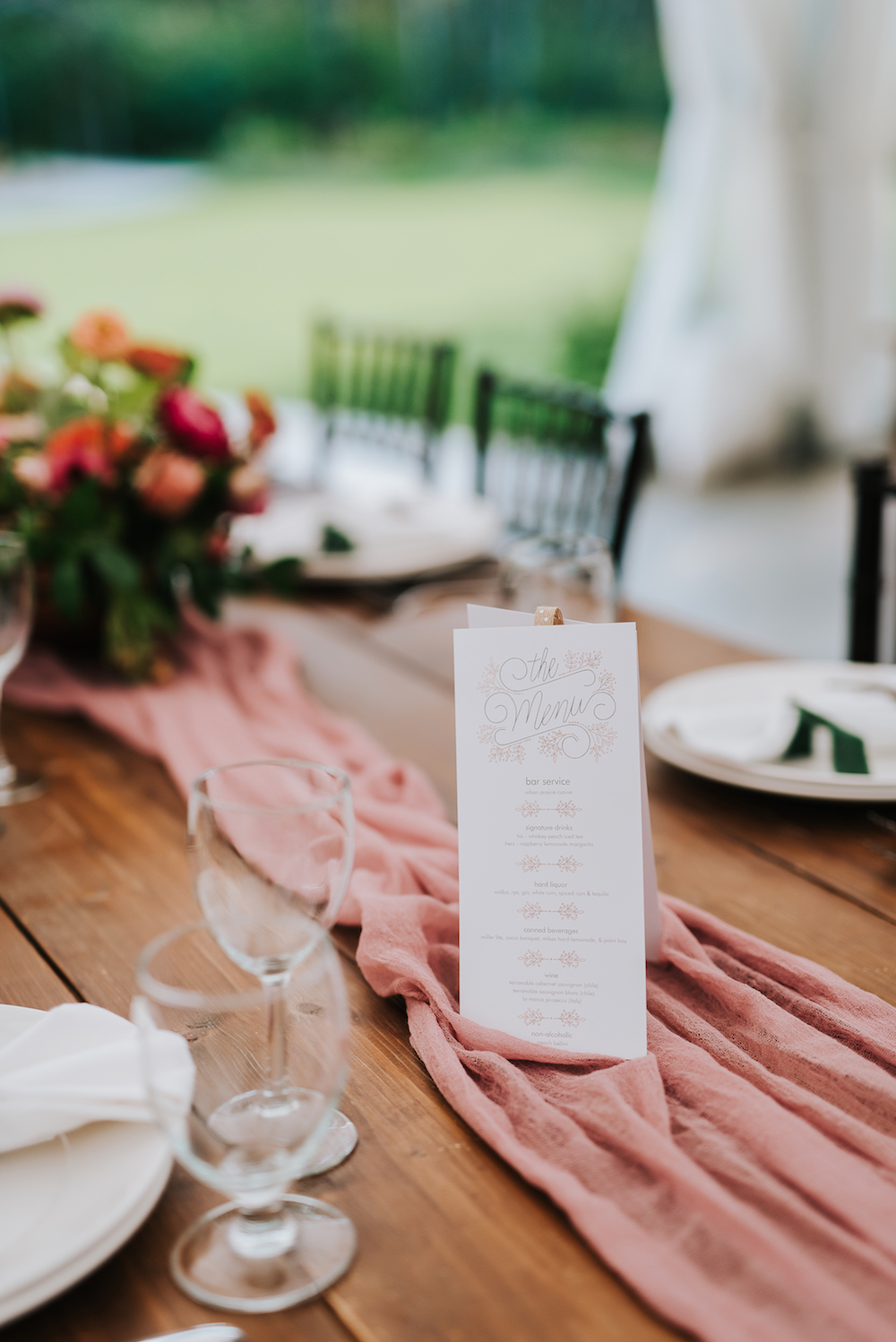 Peach and Coral Wedding Decor - Wedding Ideas in Winnipeg