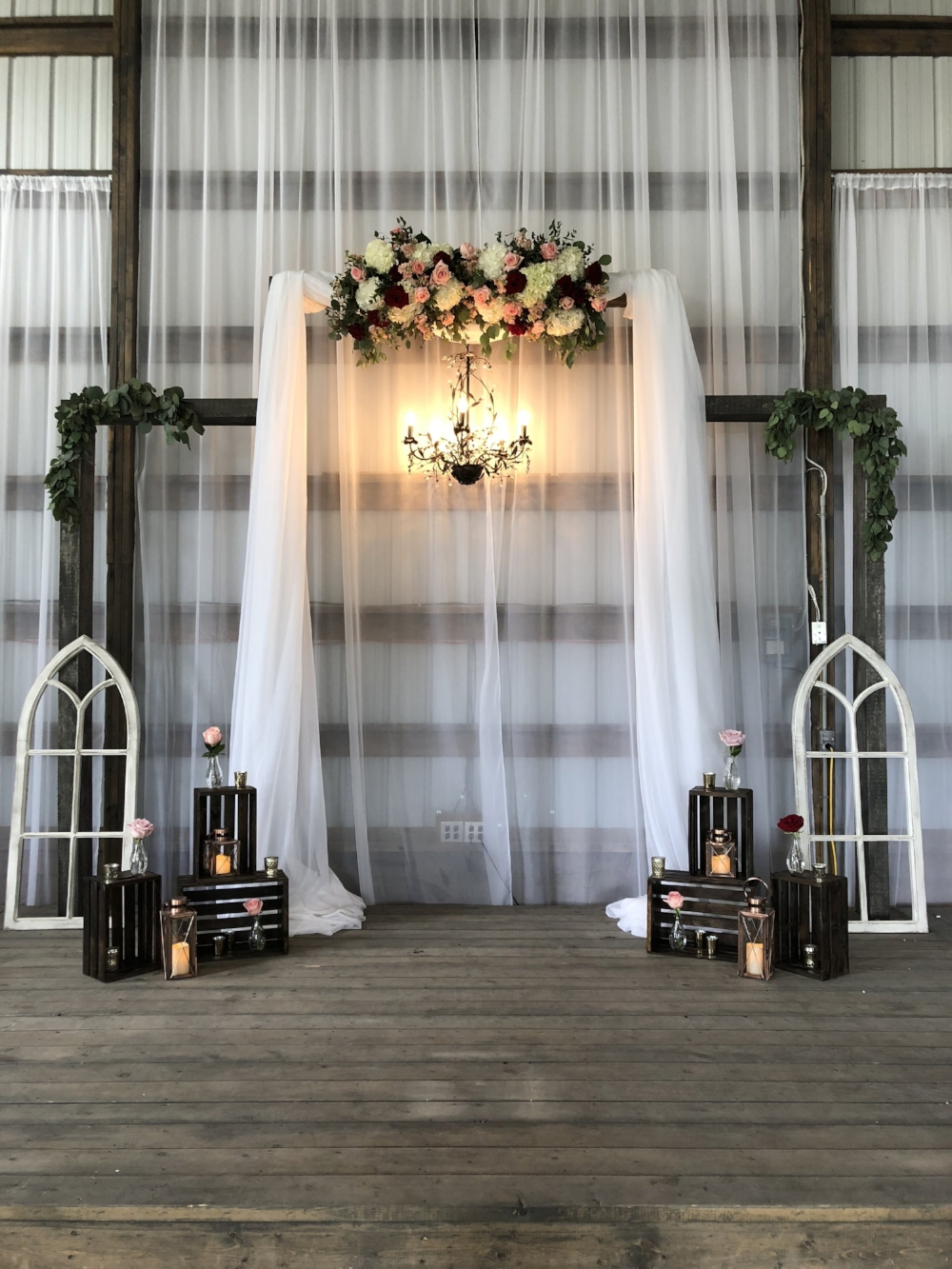 Rustic Wedding Barn Steinbach - Winnipeg's Best Wedding Florist