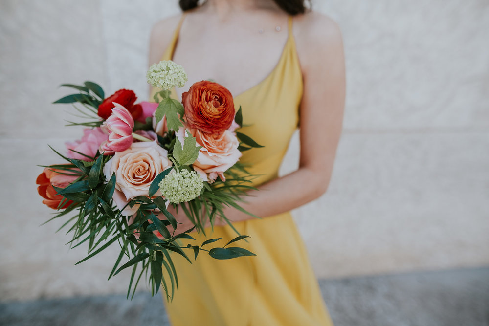 Modern, Vibrant Wedding - Winnipeg Wedding Florists