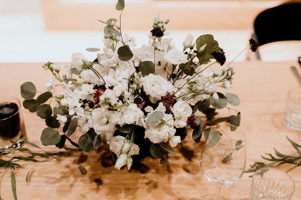 White and Black Wedding Flowers - Winnipeg's Best Wedding Florist