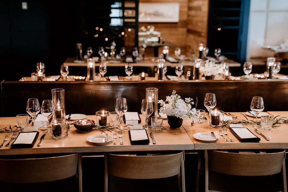 Modern Winnipeg Wedding at Smith Restaurant - Wedding Florists in Winnipeg