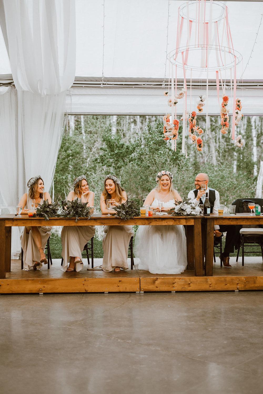 Flower Chandelier Wedding - Cielo's Garden Wedding by Stone House Creative