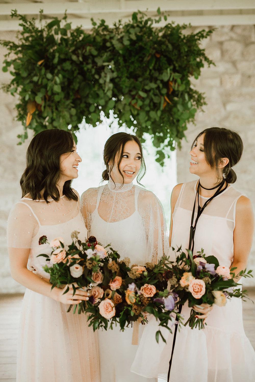 Mauve and Blush Wedding at Cielo's Garden - Wedding Florists in Winnipeg