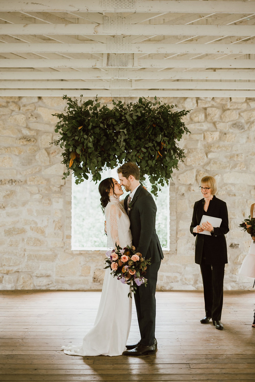 Stylish Wedding at Cielo's Garden - Winnipeg Wedding Florists