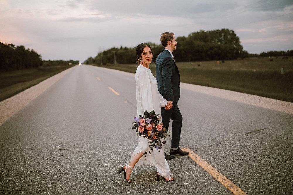 Stylish, Organic-Inspired Wedding in Winnipeg - Winnipeg's Top Wedding Florists