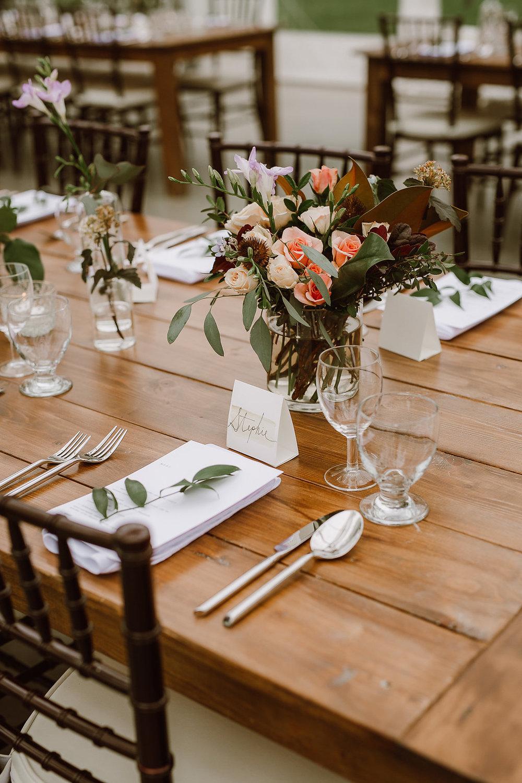 Garden Inspired Wedding Centrepieces - Wedding Florists Winnipeg