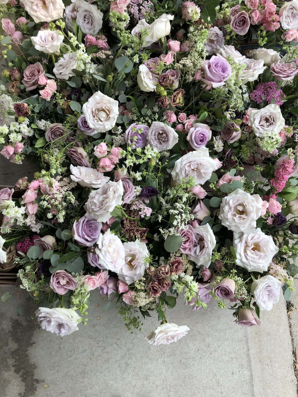 Lavender and Blush Wedding Flowers - Winnipeg Wedding Flowers