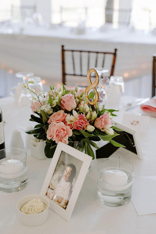 Pink Lisianthus Floral Centrepiece - Wedding Centrepiece IDeas