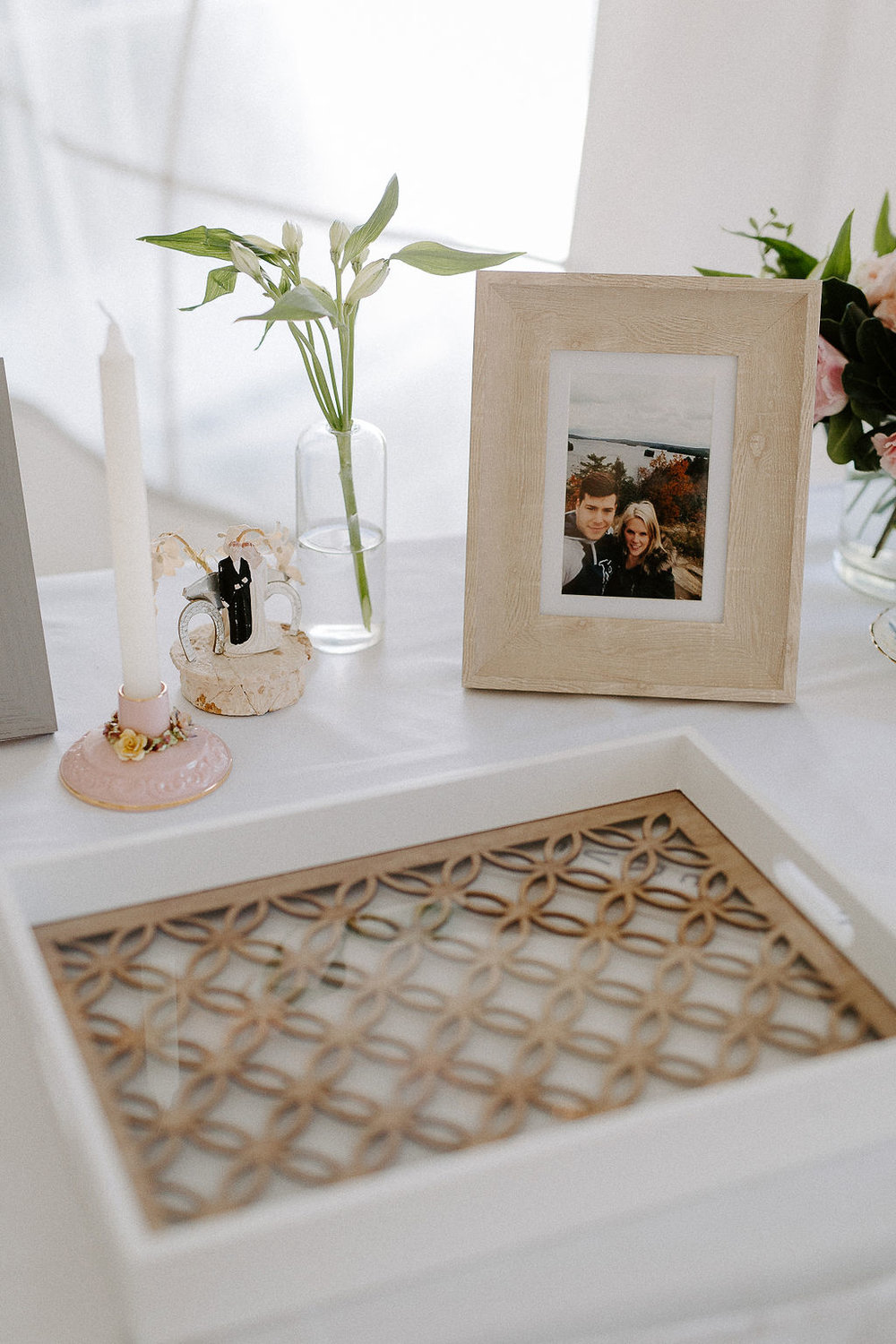 Guest Book Table Decor - Whimsical Wedding Decor Ideas