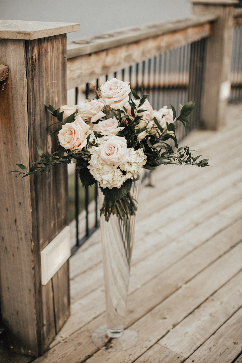 Tall Wedding Flower Centrepieces - Winnipeg Wedding Florists