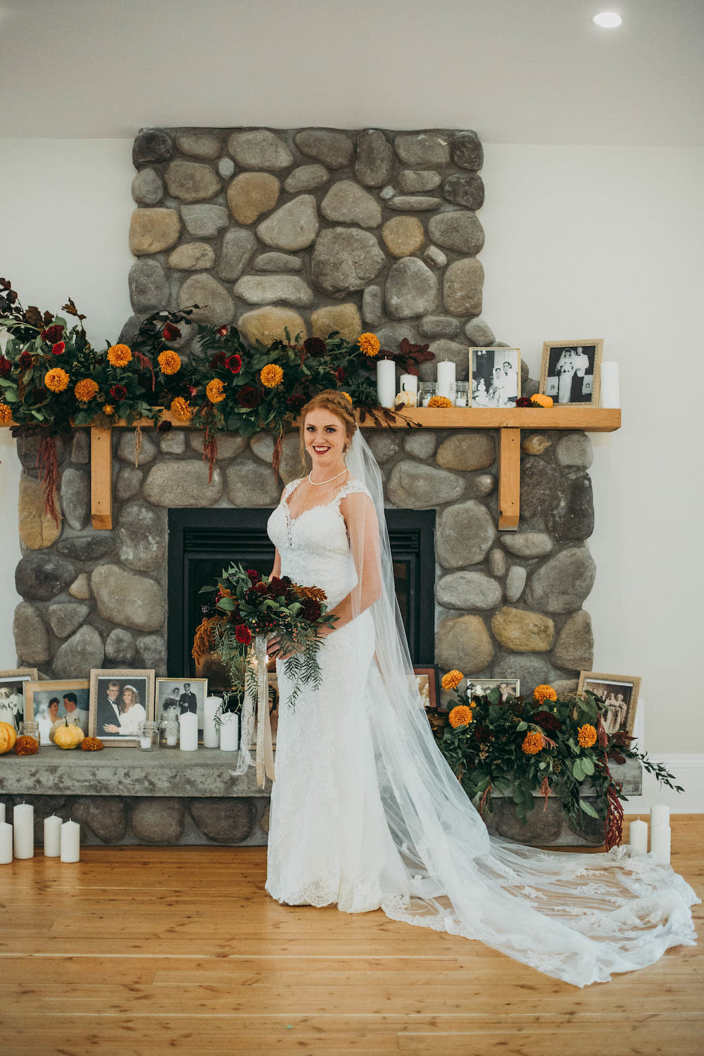WEddings at Whitetail Meadow - Indoor Ceremonies at Whitetail Meadow