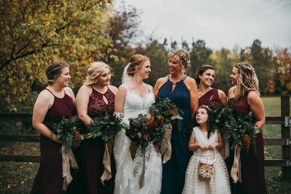 Fall Weddings in Winnipeg - Winnipeg's top wedding florist