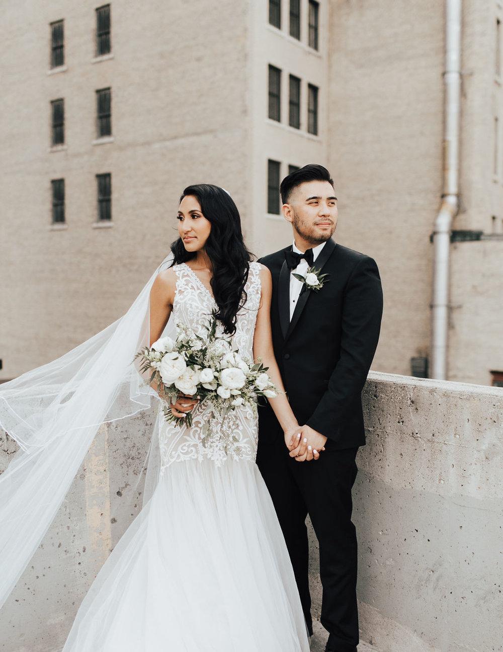 Modern and Organic Wedding in Winnipeg - Stone House Creative