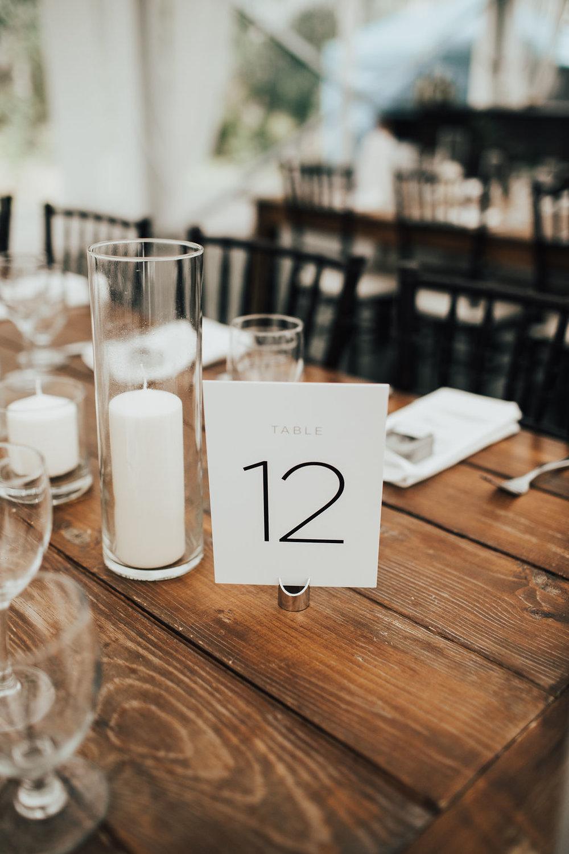 Modern Wedding Decor Ideas - Modern and Organic Wedding in Winnipeg