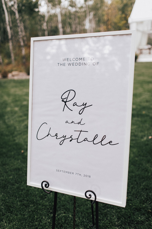 Outdoor Weddings in Manitoba - Cielo's Garden