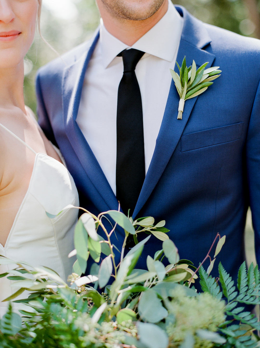 Olive Leaf Boutonniere - Wedding Ideas Winnipeg