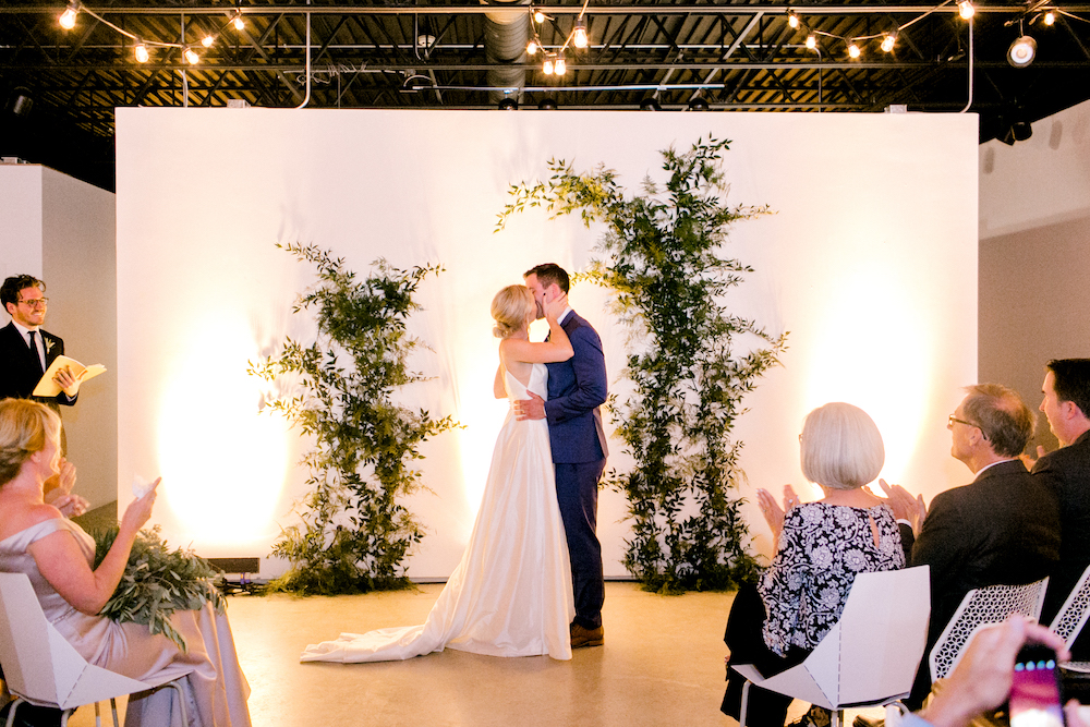 Modern Greenery Wedding at Hut K - Winnipeg Wedding Florists