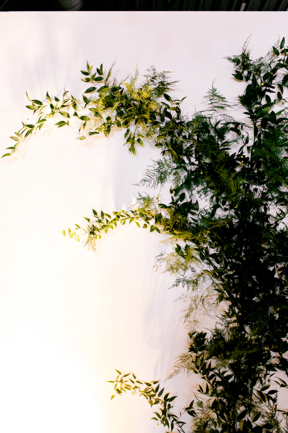Greenery Wedding Ceremony Backdrop - Weddings in Winnipeg