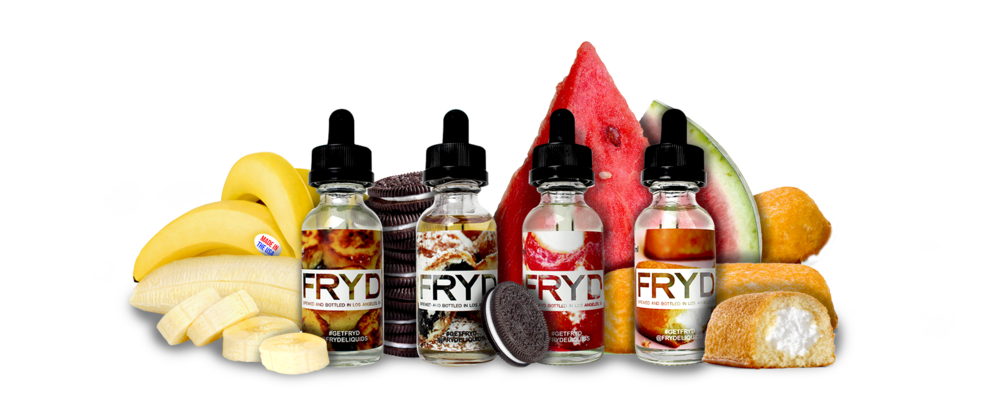 FRYD E-Liquids Now In Stock!