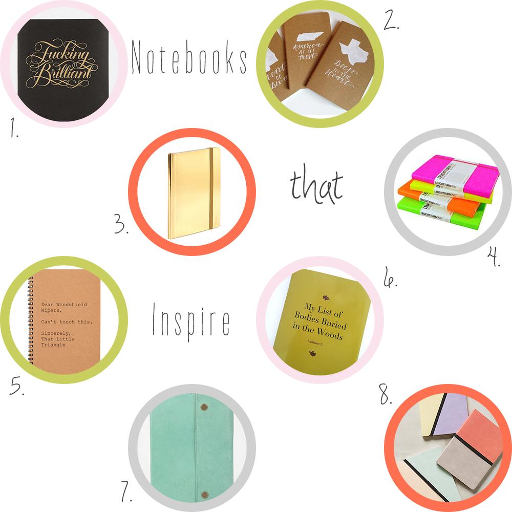 Accessories-every-creative-desk-needs-notebooks-that-inspire #everydayenthusiastic
