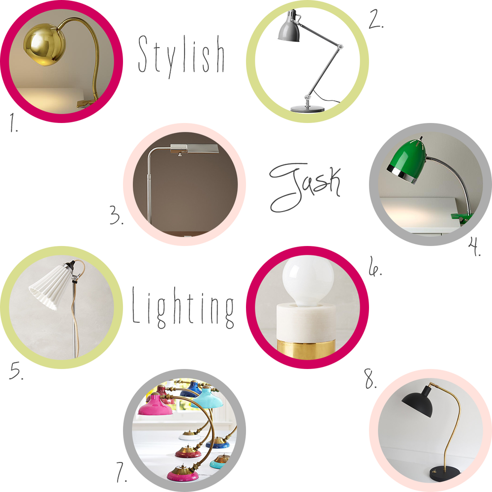 Accessories-every-creative-desk-needs-stylish-task-lighting-office #everydayenthusiastic