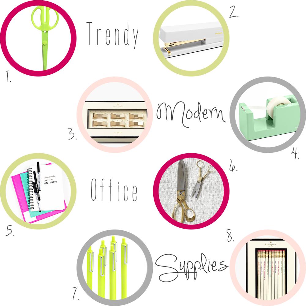 Accessories-every-creative-desk-needs-modern-office-supplies #everydayenthusiastic