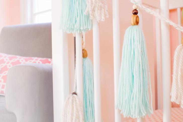 beaded-yarn-tassel-diy-nursery-crib