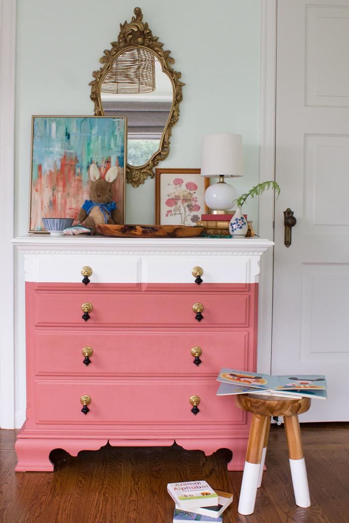 Chalk Paint Dresser Revamp