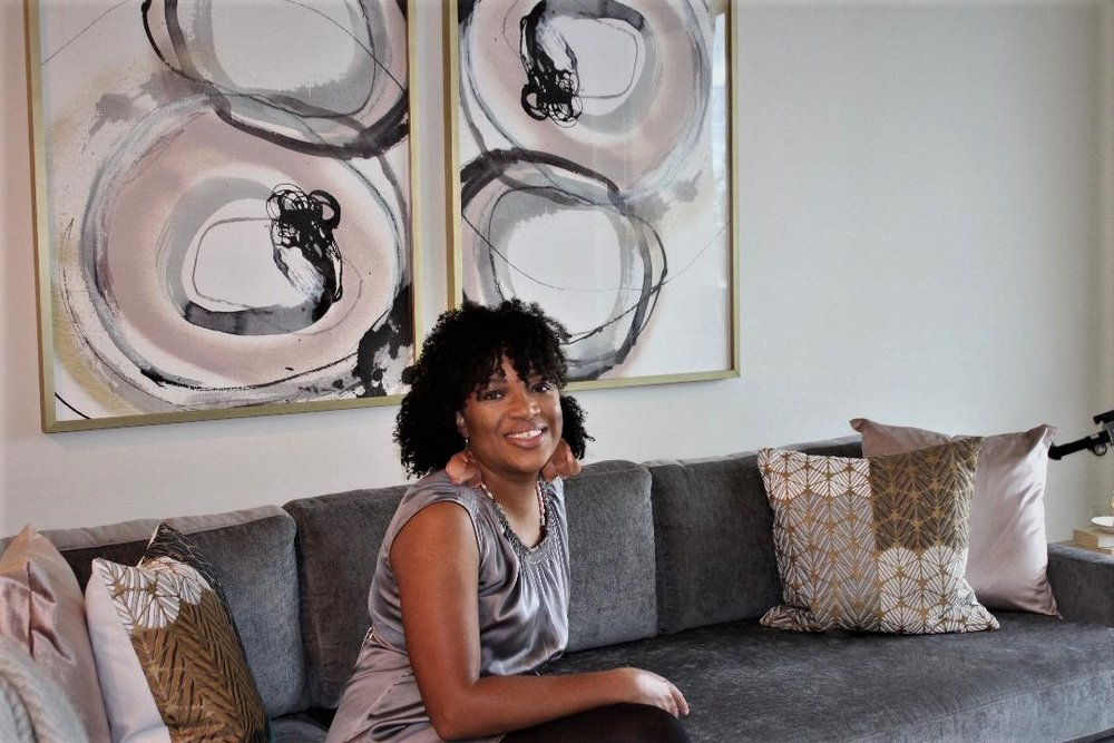 Keesha Allen - Founder of K Lilia Interior Design