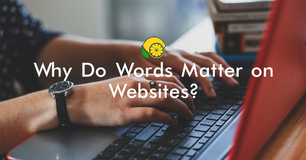 Why do Words Matter On Websites