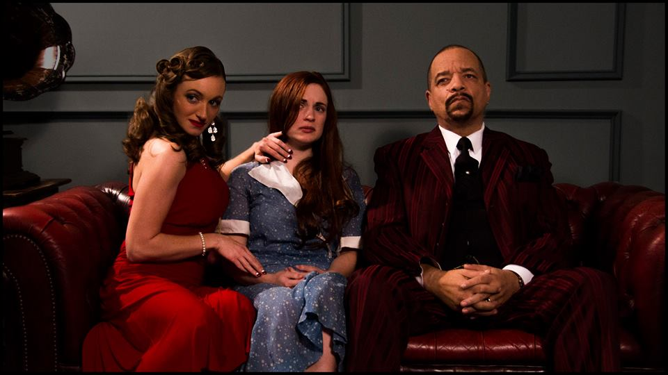 Alexandra (Julie Ek), Anna  (Airen DeLaMater) and Chesterfield (Ice-T) in Bloodrunners
