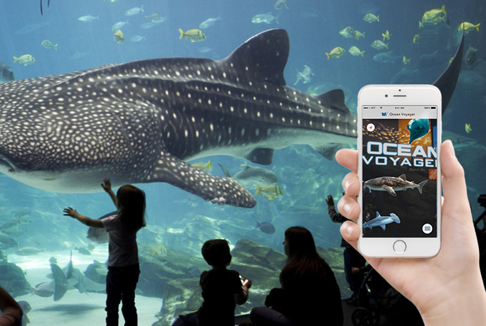 AquaRium Tour App Design