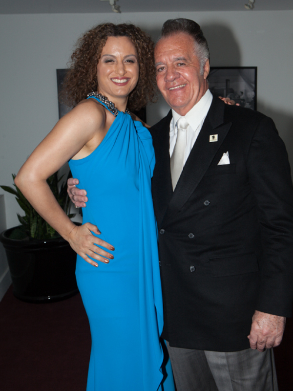Lucia Grillo & Tony Sirico | NYCIFF 2015