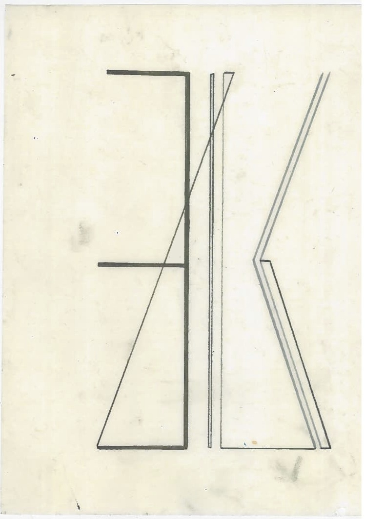 Untitled (the city, observations 01A)  Pencil on oiled fabriano paper.  140mm x 180mm  December 2013.