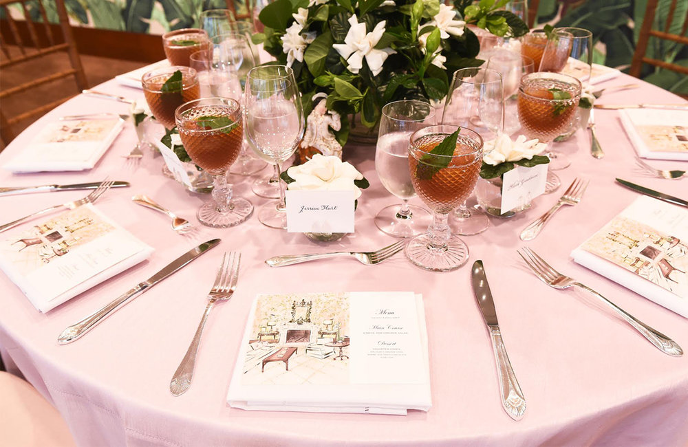 See More Pictures at https://www.vogue.com/article/besty-bloomingdale-christies-auction-luncheon