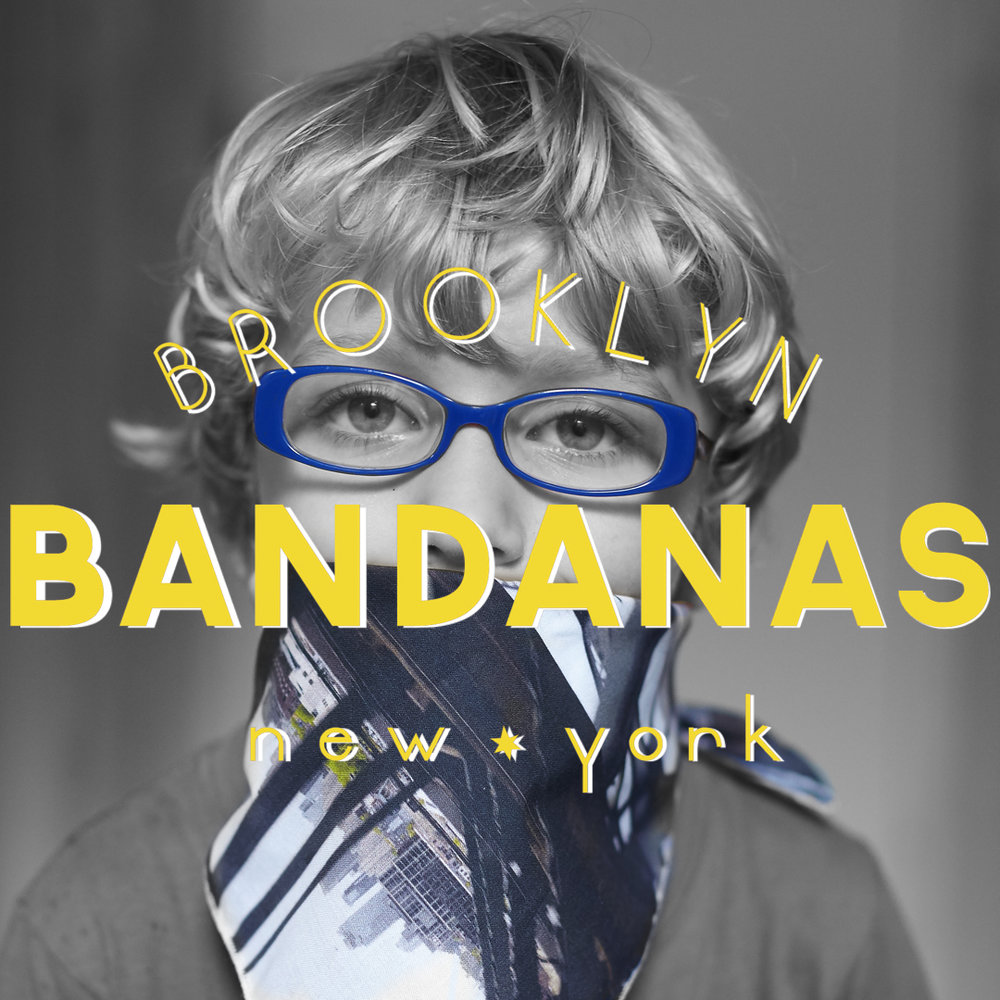Become a Master of Disguise! Buy a Brooklyn Bandana!