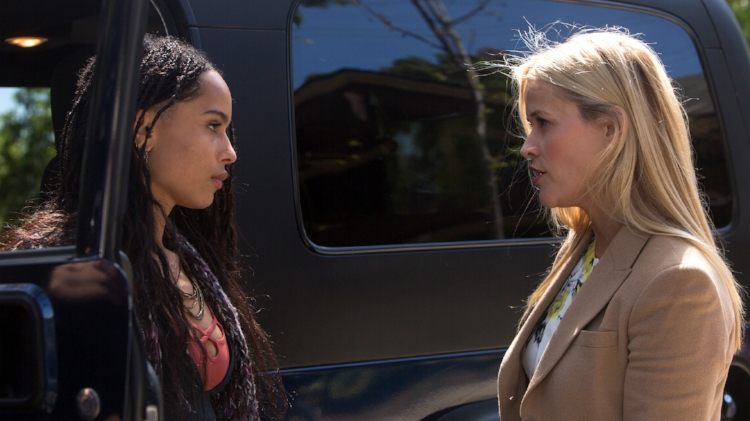 Pictured: Zoë Kravitz and Reese Witherspoon | Source: HBO | Hilary Bronwyn Gayle