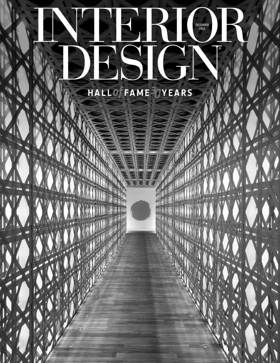 "Interior Design (December 2014) ""Best of Year - Residential Storage: Riveli by Lake + Wells"""