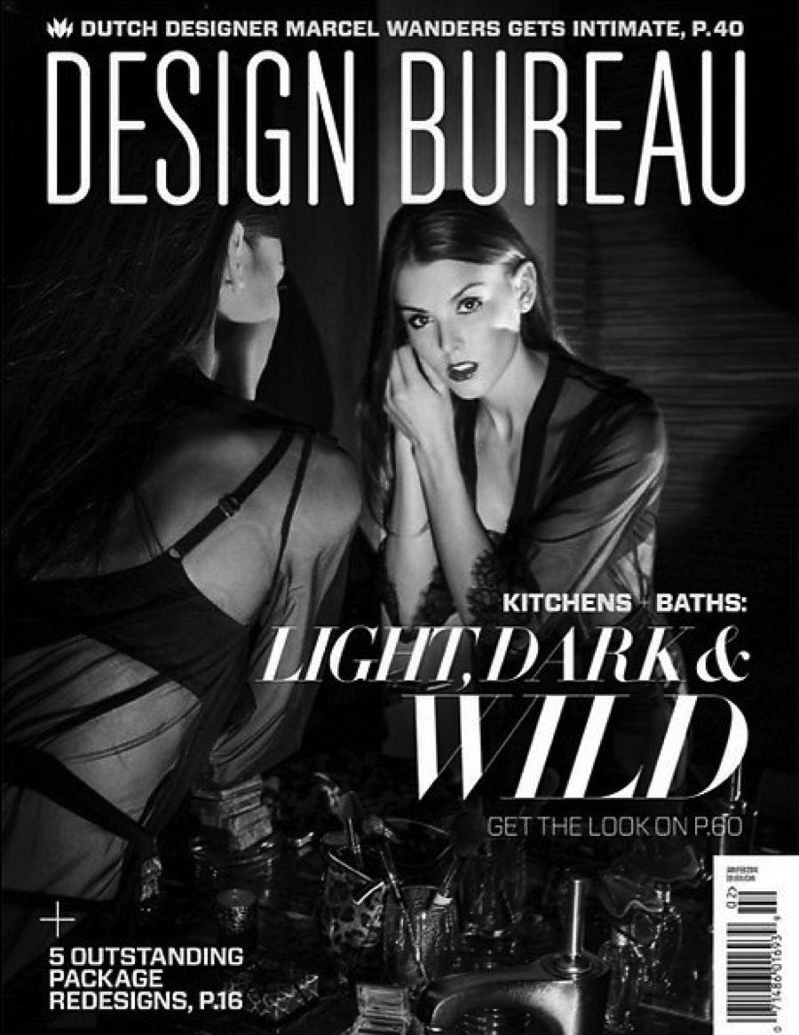 "Design Bureau (January 2014)    ""Interior lighting doesn't always need to be crisp or bright. In fact, these Oona pendants provide so much more with their handcrafted warmth. The smoked glass and hammered copper create a subtle drama between Old World knowledge and modern form."""