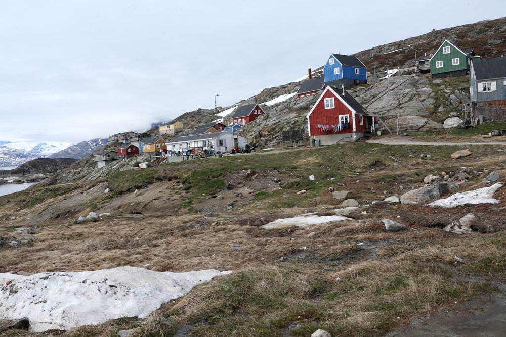 First steps in Kuummiit, East Greenland.
