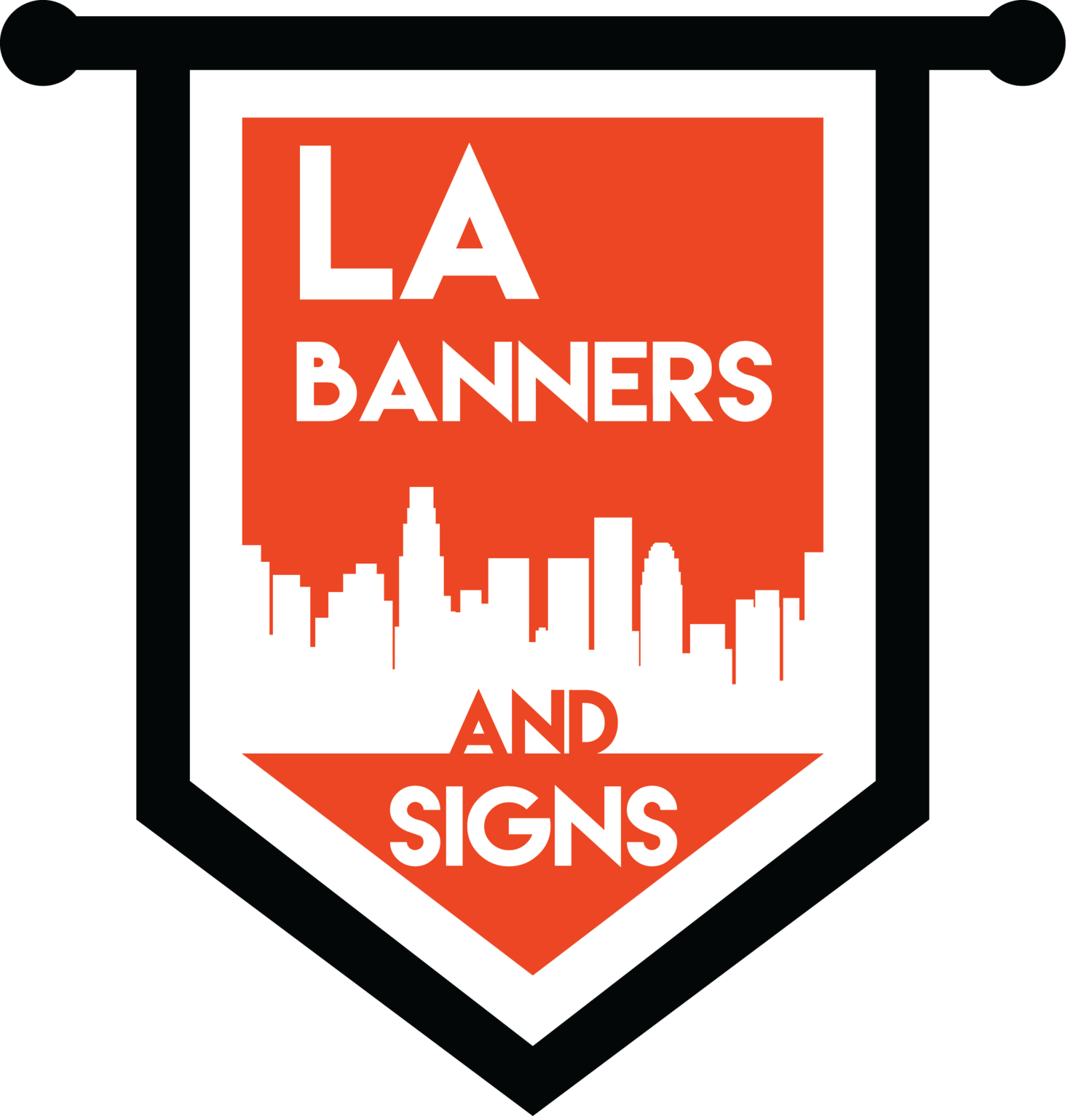 Custom Banners and Feather Flags - LA Banners and Signs