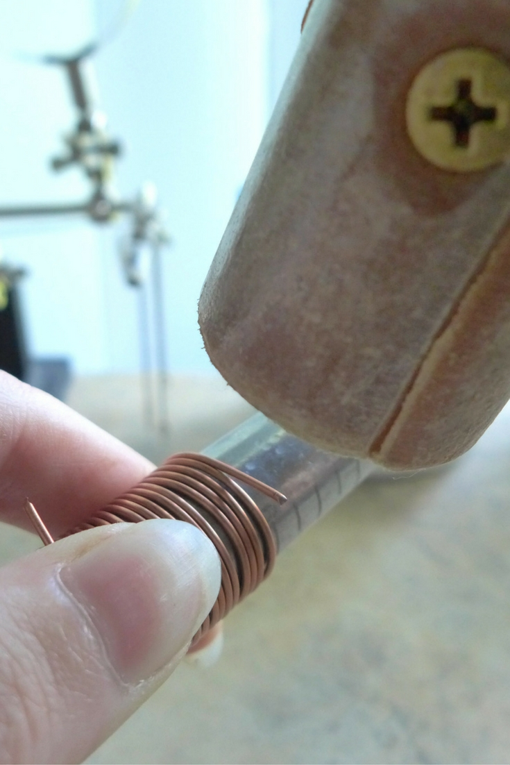 Hammer Wire Ends Down | How To Make Ring Blanks by MakerMonologues.com