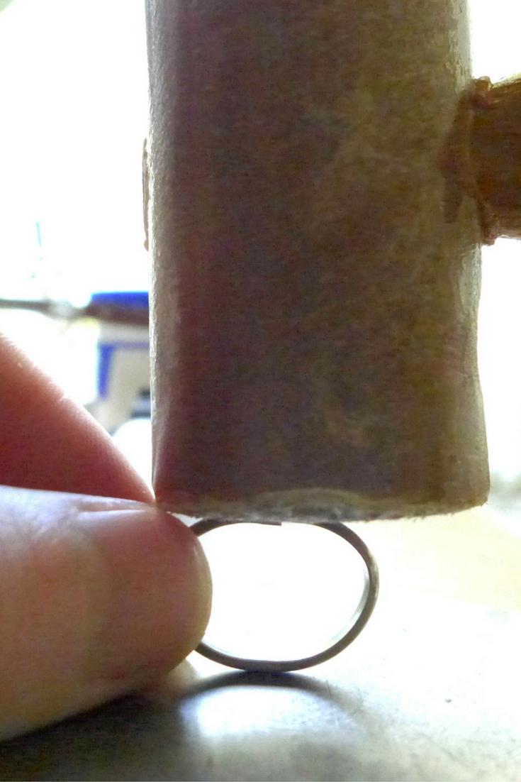 Flattening Silver Wire