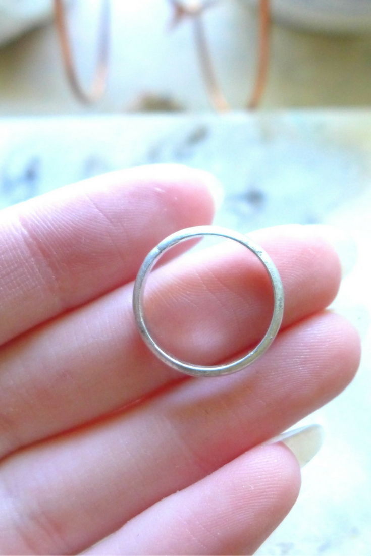 Forming The Silver Ring