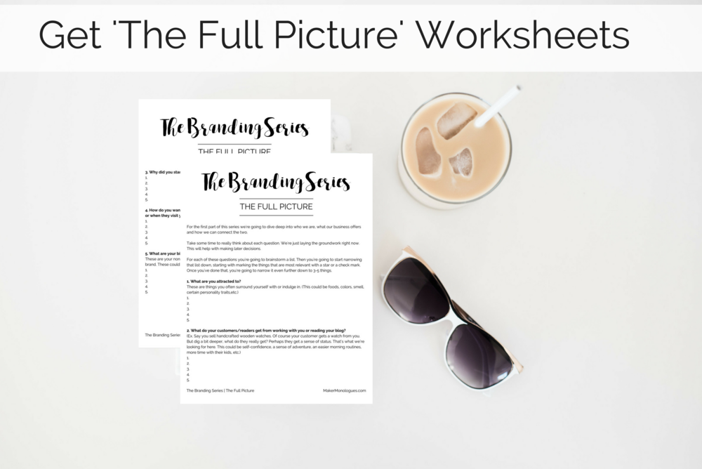 Get The Full Picture Worksheets