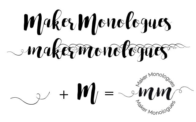 Maker Monologues Logo
