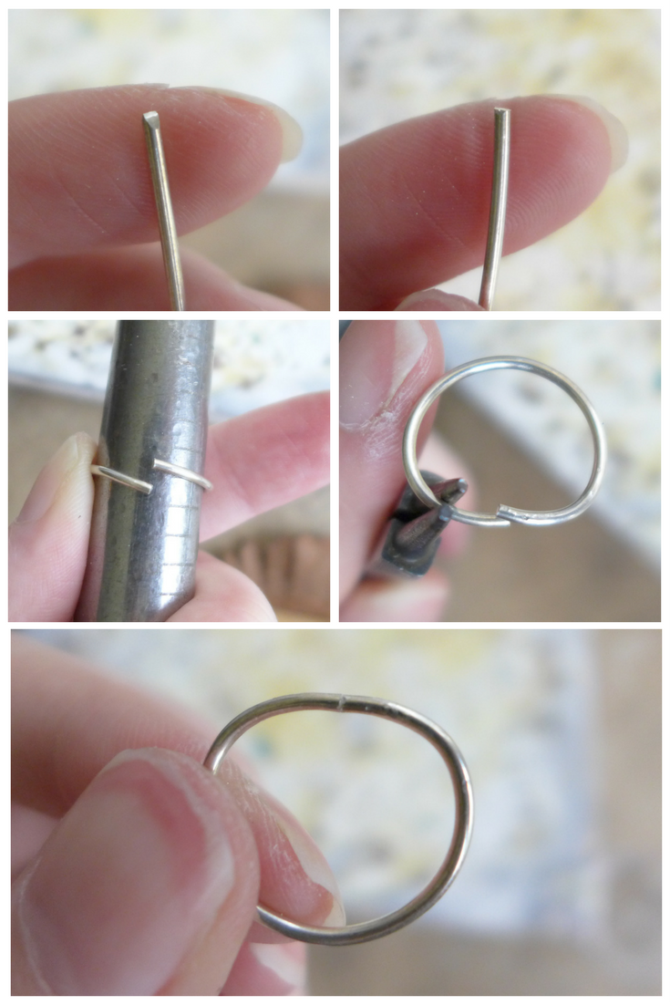 Forming A Ring Shank | How To Make A Prong Setting Ring