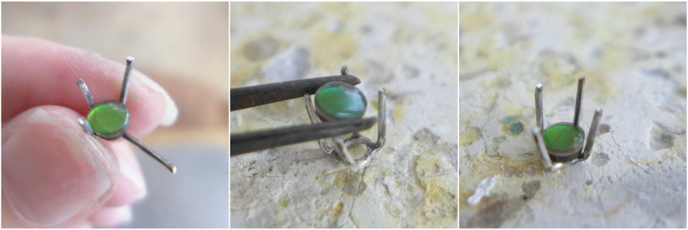 Checking Stone Fit | How To Make A Prong Setting Ring