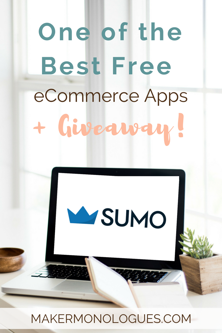 One of the Best Free eCommerce Apps + Giveaway! | MakerMonologues.com