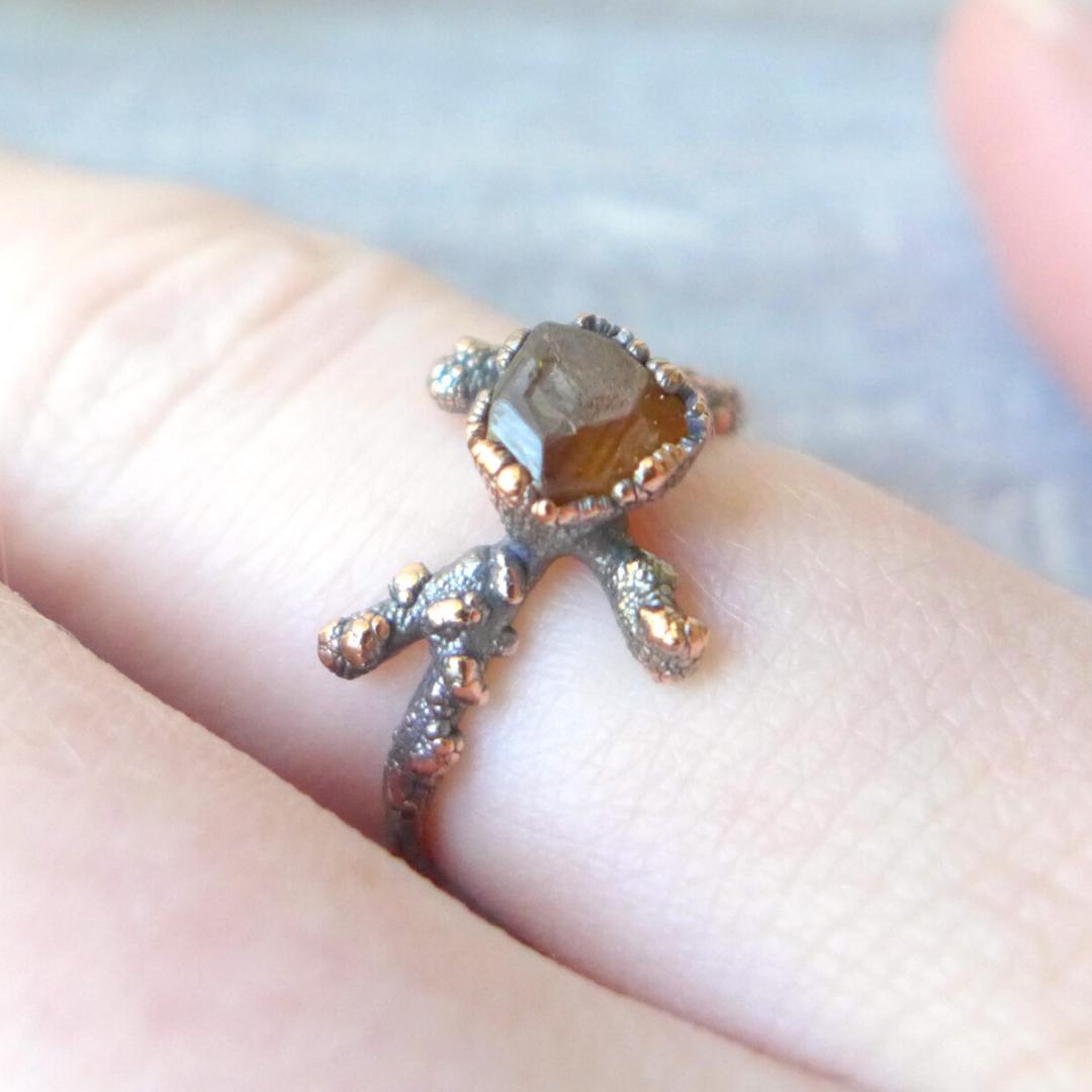 Electroformed Sterling Silver Ring